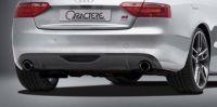 Heckansatz mit Ausschnitt für ein Endrohr links und rechts Caractere passend für Audi A5/S5