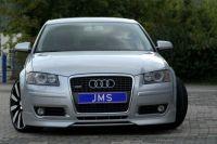 Frontlippe Racelook V3 JMS passend für Audi A3 8P Sportback