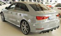 Rieger Heckdiffusoreinsatz Doppelendrohr links passend für Audi  A3 8V