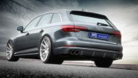 rear diffuser jms racelook fits for for Audi A4 B9