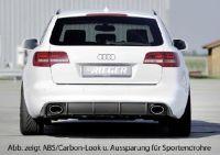 Rieger Heckeinsatz passend für Audi A6 4F