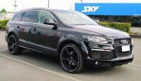 Caractere Radlaufverbreiterungen passend für Audi Q7