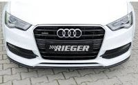 Rieger Spoilerschwert/Cuplippe gekantete Version passend für Audi A3 8V