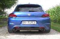 BN Pipes VW Scirocco 13 Auspuffanlage ab Kat - Tuning Teile Shop Autoteile