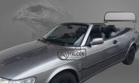 Weyer Falcon Premium Windschott für Saab 9-3 ab 2005 hohe Ausführung fuer grosse Personen