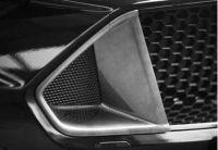 Frontgrilleinsatz Set ABBES passend für Ford  Mustang LAE