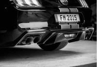 Heckansatz 2-teilig ABBES Racelook passend für Ford  Mustang LAE