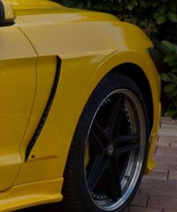 Racelook Kotflügelaufsatz Abbes Design passend für Ford  Mustang LAE