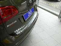 JMS Ladekantenschutz Edelstahl  passend für VW Sharan