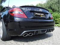 Piecha RS Heckdiffusor AMG Carbon passend für Mercedes SLK R171