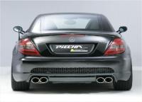 Piecha Performance RS Heckschürze mit Diffusor passend für Mercedes SLK R171