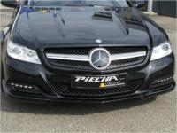 Piecha Frontspoilerlippe für Serienstoßfänger passend für Mercedes SL R 230