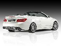 PIECHA  RS Heckspoilerlippe 3-tlg., für Cabrio passend für Mercedes E-Klasse C207