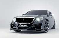 Lorinser Kühlerverkleidung mit Grilleinsatz und Emblem passend für Mercedes S-Klasse W222