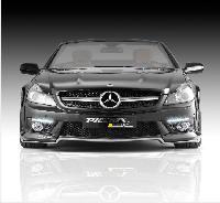 Piecha Frontspoilerlippe für SL 63/65 Frontspoiler passend für Mercedes SL R 230