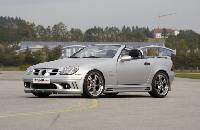 Rieger Spoilerstoßstange  passend für Mercedes SLK R170