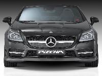 Piecha Frontspoilerlippe   passend für Mercedes SLK R172