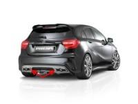 AMG 4-rohr Auspuff Endrohreinsatz  passend für Mercedes A-Klasse W176