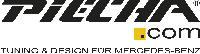 Piecha Doppelendrohradapter für GT-R Endrohre 4x90mm passend für Mercedes CLA W117
