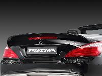 Piecha Heckspoilerlippe   passend für Mercedes SL R231