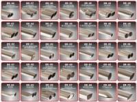 Racelook 3 Zoll (76mm) Duplexanlage Edelstahl/stainless steelpassend für OpelZafira B
