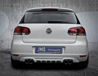 JMS Heckdiffusor Racelook Exclusiv Line  VW Golf 6 - Tuning Teile Shop Autoteile